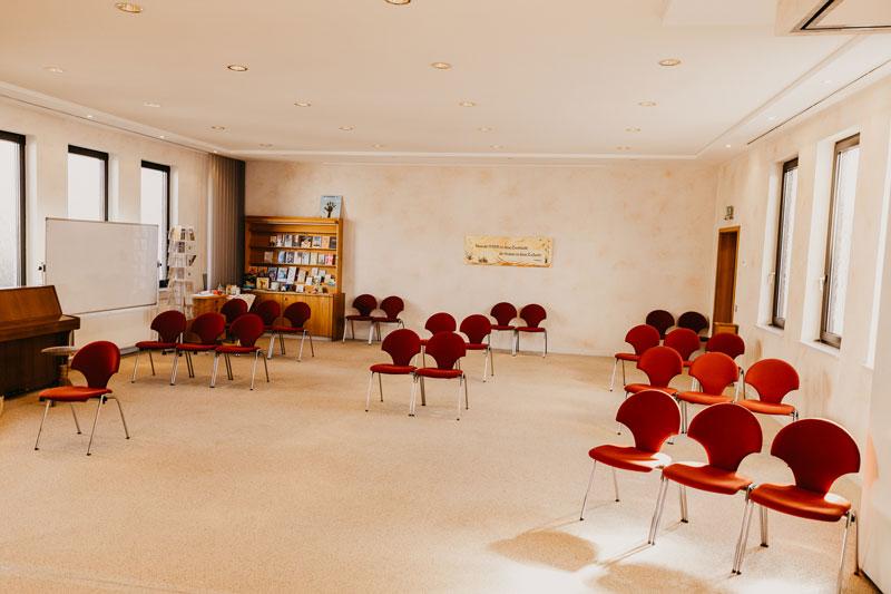 Bild: Kleiner Saal FeG Friedensdorf