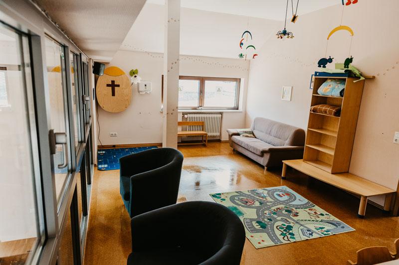 Bild: Mutter-Kind-Raum FeG Friedensdorf