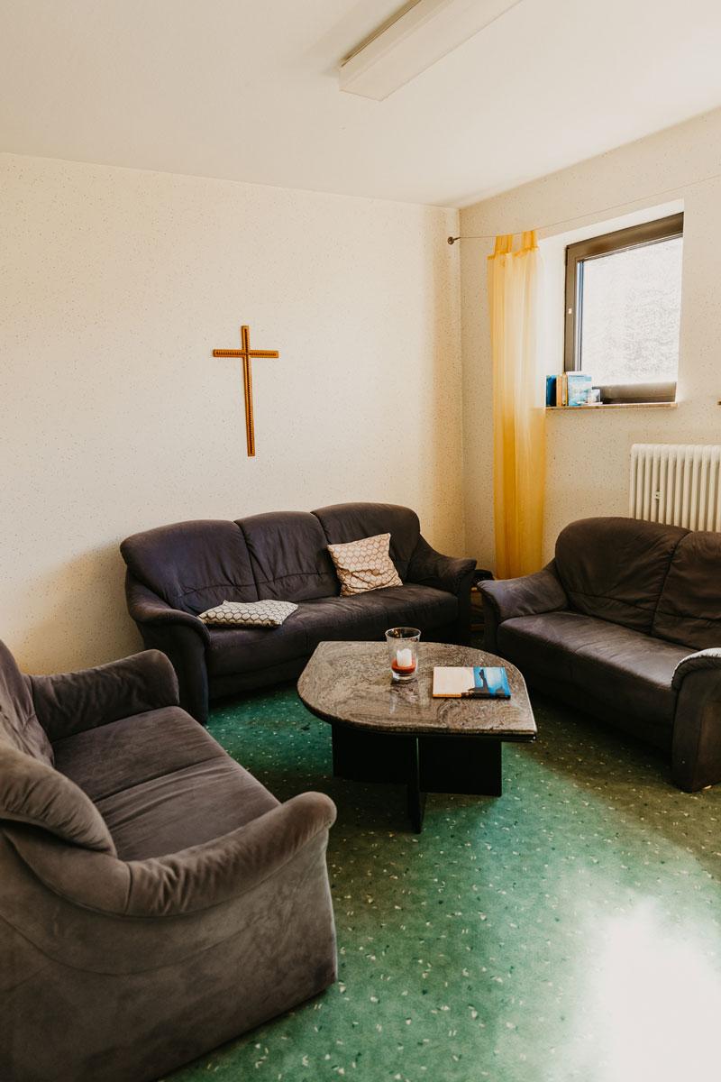Bild: Raum der Stille FeG Friedensdorf